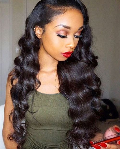 Sensational Curly Weave Hairstyles Latest Hairstyle In 2017 Hairstyles For Women Draintrainus