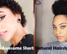 Short Natural Hairstyles Thumbnail