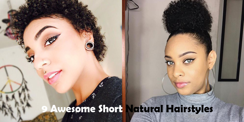 9 Awesome Short Natural Hairstyles
