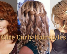 Cute Curly Hairstyles Thumbnail