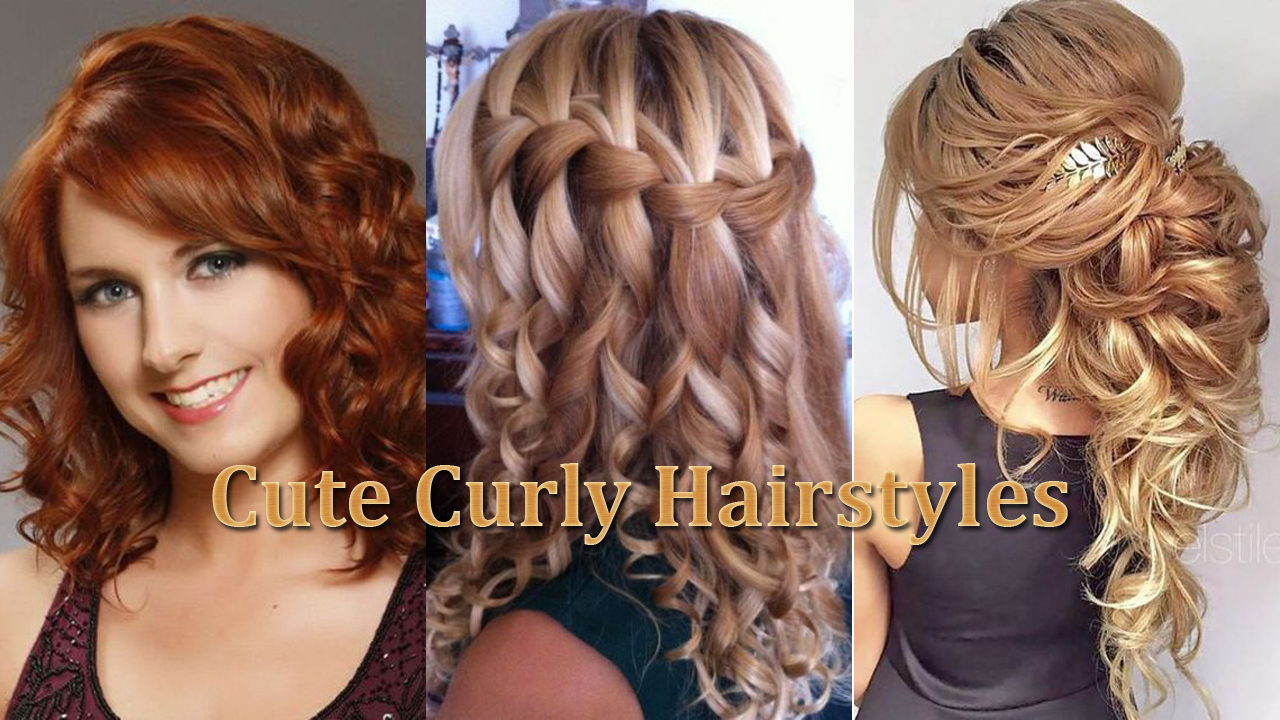 Cute Curly Hairstyles – Latest Hairstyle in 2018
