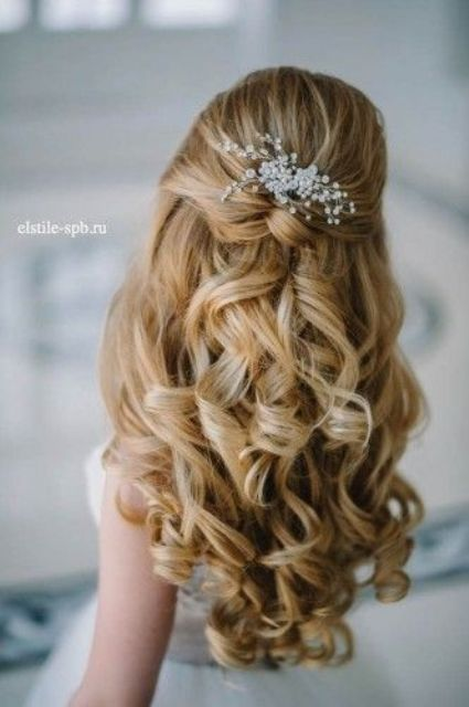 Flower Girl Hairstyles – Latest Hairstyle in 2018