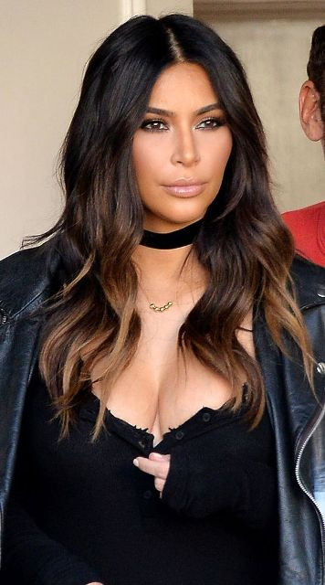 Kim Kardashian New Hair Color 2019