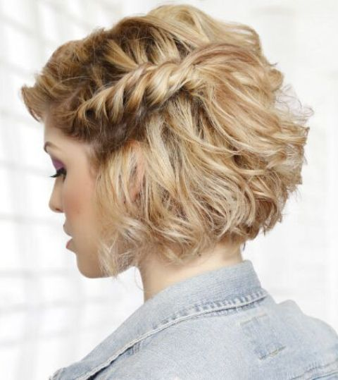 HD wallpapers side swept updo hairstyles for short hair