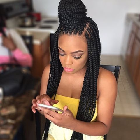 Micro Braids Hairstyles Latest Hairstyle In 2019