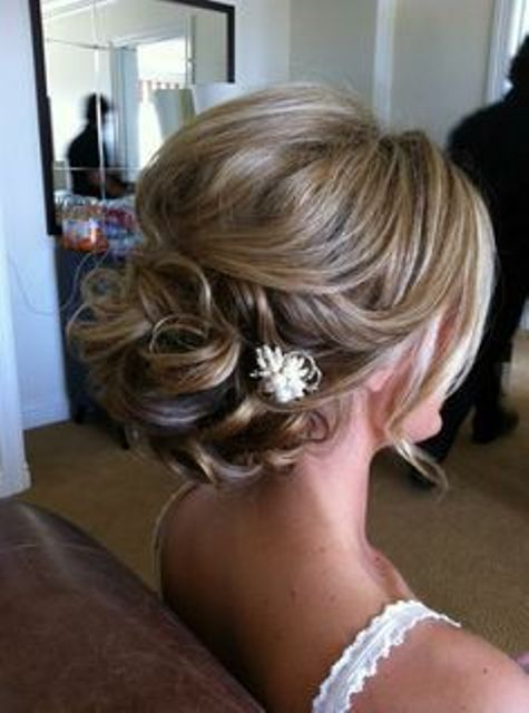 Mother of Bride Updo Hairstyles