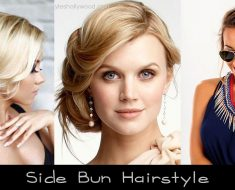 Side Bun Hairstyle