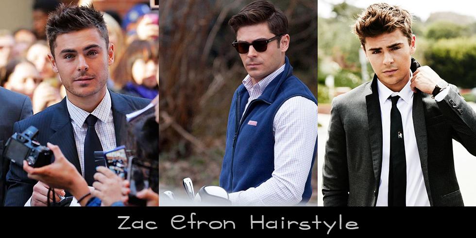 Zac Efron Hairstyle