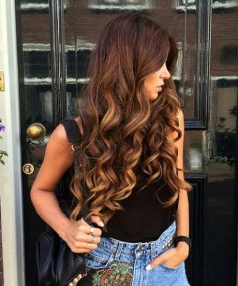 curl styles for long hair curly hairstyles hairstyle in 2018 6448 | Cute Curly Hairstyles 4